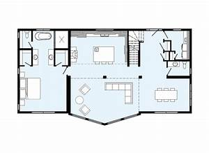 maison neuve plan rf plan maison neuf t6 de 106 m plan With faire plan maison 3d 2 toulon var 83 architecte permis construire maison neuve