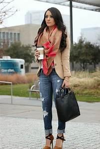 Chic Ways to Wear Distressed Denim u2013 Glam Radar