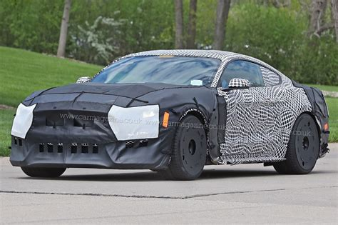 Ford Mustang Gt500 (2018) Spy Shots And First Details By