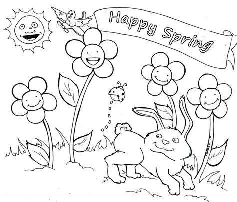 coloring pages coloring pages spring coloring pages