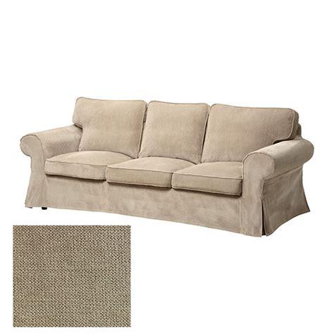canape ikea ektorp ikea ektorp 3 seat sofa slipcover cover vellinge beige