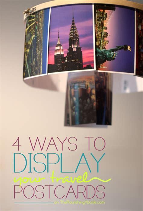 4 Creative Ways To Upcycle And Display Postcards  Hacka