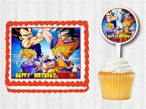 Z Cake Decorations by Z Edible Birthday Cake Cupcake Toppers