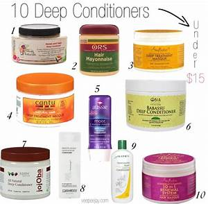 10 Inexpensive Deep Conditioners For Natural Hair VeePeeJay
