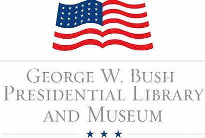 Bush George Presidential Library Wikipedia Official Svg