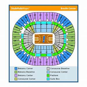 Breslin Center Seating Chart Jack Breslin Arena Events And Concerts In East Lansing