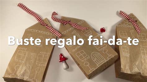 Idee Mensole Fai Da Te by Idee Creative Regali Di Natale Buste Regalo Fai Da Te