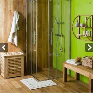 Leroy Merlin Douche à L Italienne : douche l italienne paroi et sol en teck leroy merlin ~ Premium-room.com Idées de Décoration