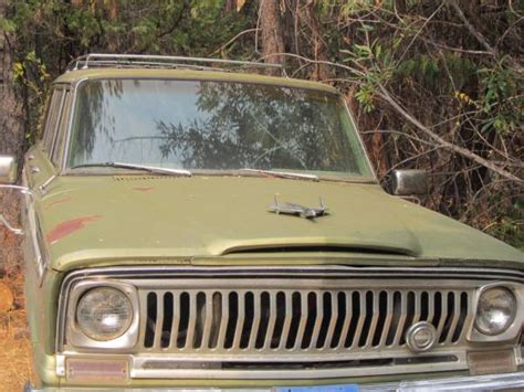 1970 jeep wagoneer 1970 jeep grand wagoneer 350 v8 for sale in gold country
