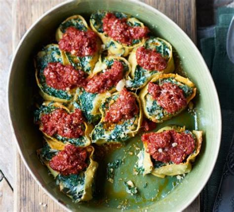 Spinach & Ricotta Rotolo Recipe  Bbc Good Food