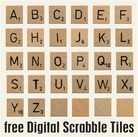 scrabble clipart large pencil and in color scrabble clipart large