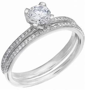 ladies white gold diamond engagement ring set With ladies diamond wedding ring sets