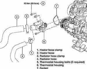 Replacing Thermostat On 2006 Ford Escape