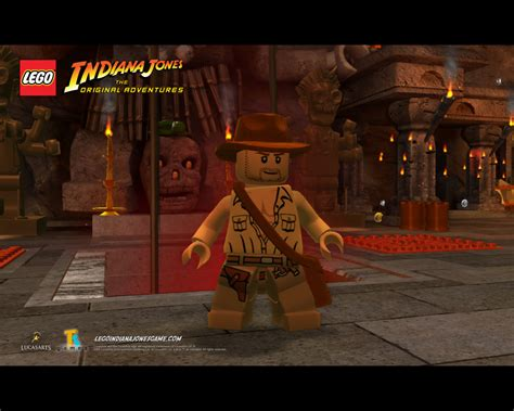 Lost Temple Free Lego Indiana Jones Wallpaper Gallery