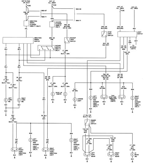 62 Chevy Headlight Switch Diagram Wiring Schematic by Chevy Wiring Diagrams Freeautomechanic