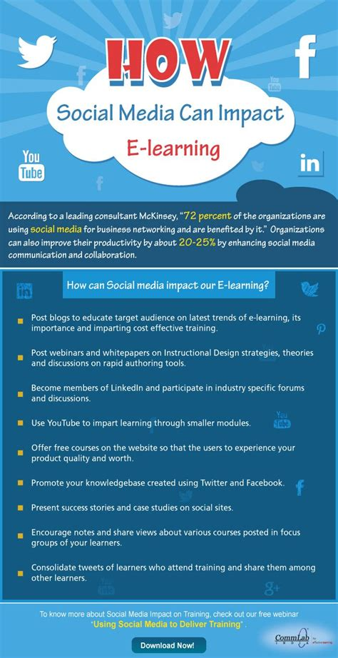social media certification free 17 best images about stunning e learning infographics on