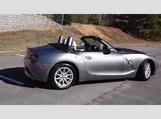 2003 BMW Z4 Roadster YouTube