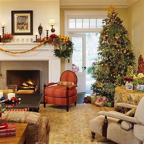 stunning christmas decorations   living room