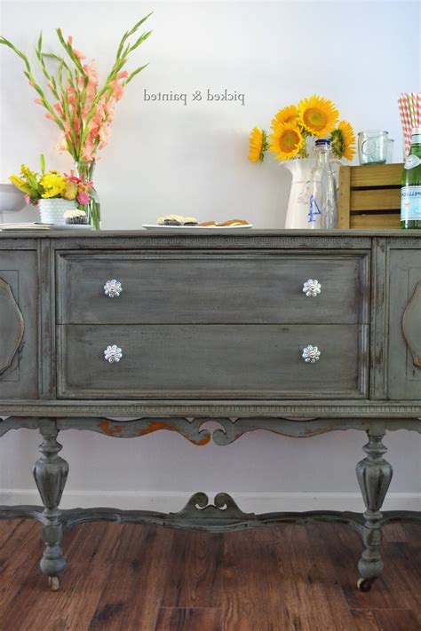 15 Ideas Of Stylish Antique Sideboards And Buffets