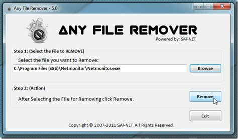 File Remover  Forcibly Remove Any File For Which Access