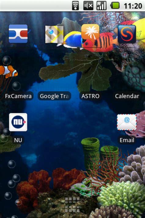 Animated Aquarium Wallpaper For Android - aquarium live wallpaper for android