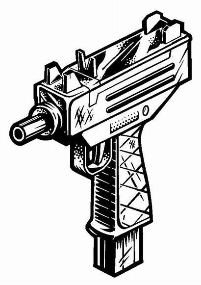 Tattoo Gun Drawing Ak 47 Bullet Drawings