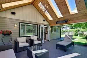 überdachte Terrasse Holz : berdachte terrasse ideen f r eine gem tliche freizeit ~ Whattoseeinmadrid.com Haus und Dekorationen