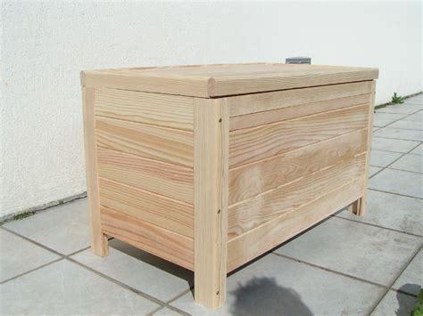 coffre en bois brut mzaol