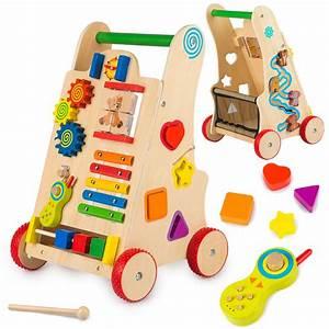 Puppenwagen Lauflernwagen Holz : lauflernwagen lauflernhilfe laufwagen gehfrei holz gs0030 ~ Watch28wear.com Haus und Dekorationen