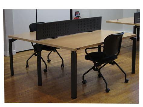cloison bureau occasion bench haworth 2postes avec cloison adopte un bureau
