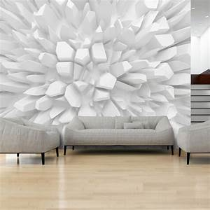 21 abstrakte 3d tapeten fur wenig geld die grosse show for Balkon teppich mit 3d tapete weiß