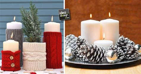 riti con le candele decorazioni natalizi con le candele ecco 20 idee creative