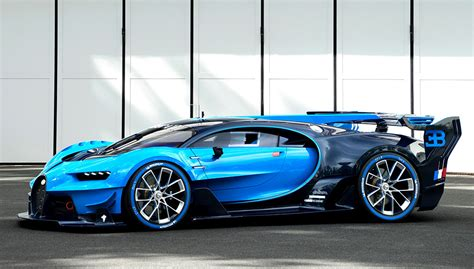 The Bugatti Vision Gran Turismo Concept Is A Real-life