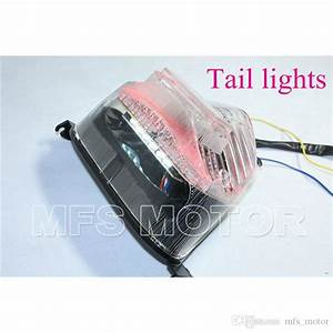2020 Motorcycle Parts Led Tail Brake Light Turn Signals