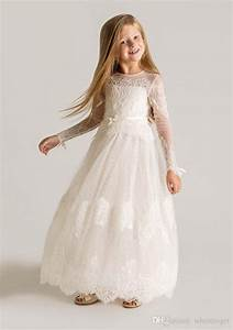Kleider Nach Maß : 2015 princess sheer t ll blumenm dchenkleid mit langen rmeln nach ma spitze entwerfer ~ Watch28wear.com Haus und Dekorationen