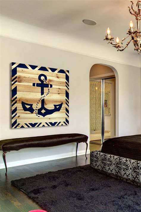 40 Nautical Decoration Ideas For Your Home  Bored Art. Kitchen Decor Grapes. Barn Wood Dining Room Table. Yellow Living Room Accents. Metal Art Wall Decor. Living Room Decor Themes. Decorative Bollards. Decorating Living Room. Hotel Rooms With Kitchens
