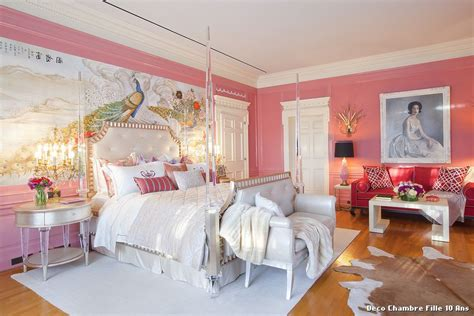 chambre ado fille moderne idee deco chambre ado fille 13 ans kirafes