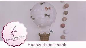Hochzeitsgeschenk Basteln Geld : hochzeitsgeschenk diy hei luftballon basteln diy geldgeschenk anleitung ~ Frokenaadalensverden.com Haus und Dekorationen
