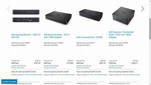 Solved  Discuss Before Purchase Usb C  Tb Dock  D3100  Wd15