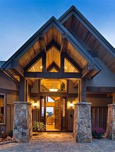 North Carolina Mountain Homes - Contemporary - Entry