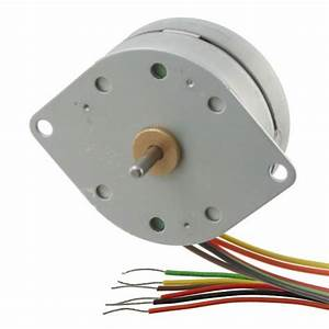Stepper Motor Pm42s  6 Wire  At Mg Super Labs India