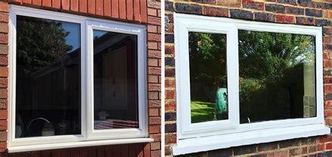 thick  upvc window frames sheerwater glass