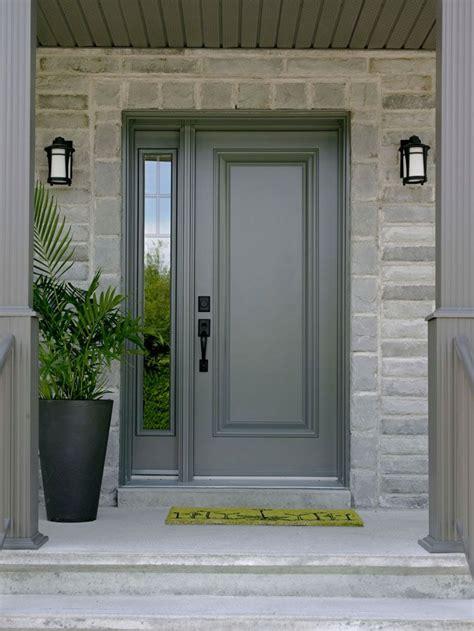 gray front doors - Design Decoration