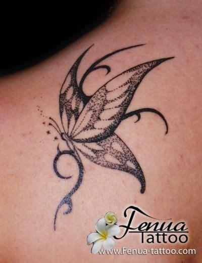 Papillon Profil Tatouage