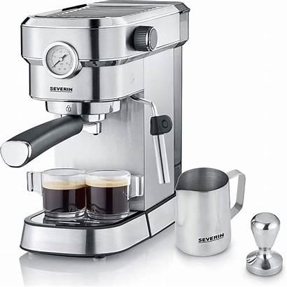 Espresso Espresa Severin Ka Maker Stainless Steel