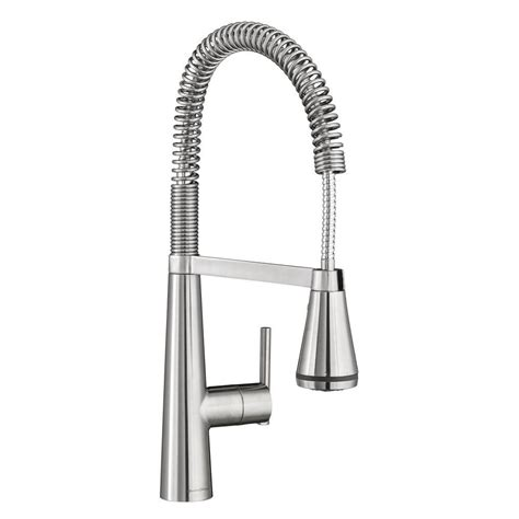 professional kitchen faucets home standard edgewater semi professional single