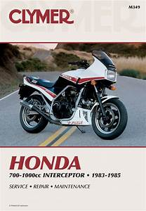 Honda Vf700f  750f  1000f Interceptor Motorcycle  1983