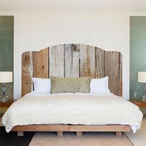 Tete De Lit Bois Flotté : tete de lit en planche awesome mobilier maison tete de lit persienne bois chambre planche brut ~ Teatrodelosmanantiales.com Idées de Décoration