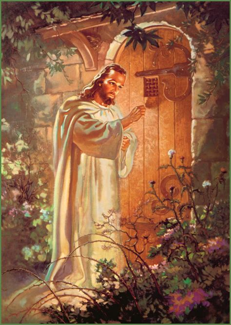 jesus knocking at the door painting answer to our secular age the coming of the sacred