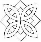 Quilting Patterns Quilt Stencils Designs Mandala Stencil Mosaic Patrones Square Mandalas Pinwheel Templates Coloring Hand Zentangle Mosaique Carreaux Draw Pattern sketch template